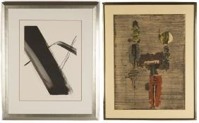 Toko Shinoda & J. Friedlaender Lithographs