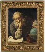 G. Funk (19th century) Portrait of Galileo Galilei