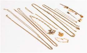 Misc. 14K Gold Jewelry