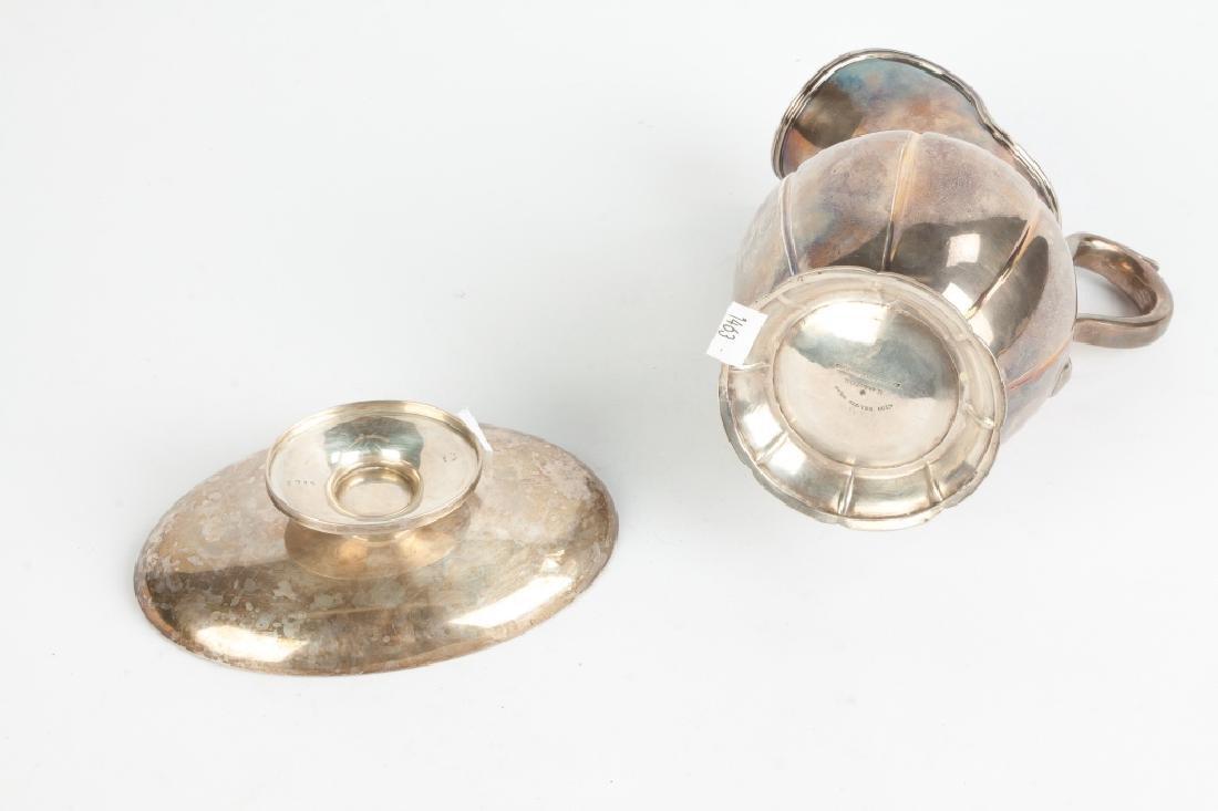 Jones Ball & Poor, Boston, Coin Silver Pitcher & - 2