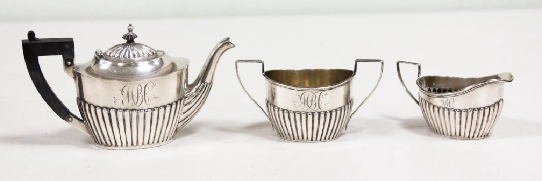 Gorham Sterling Silver Creamers & Sugar Bowl