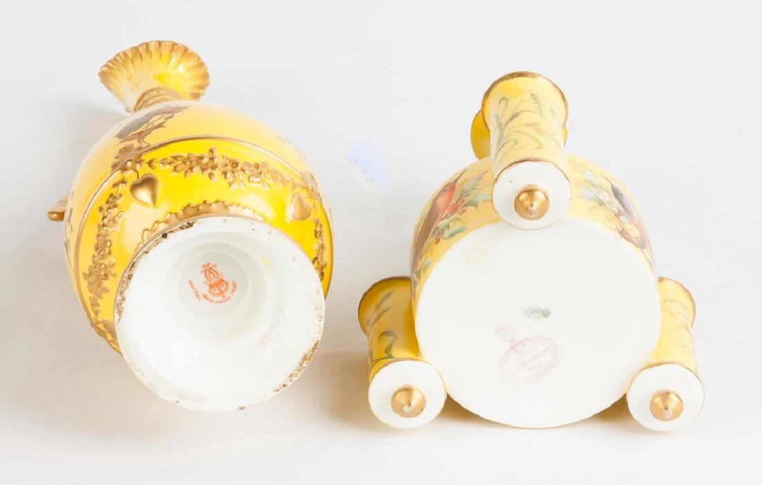 Aesthetic Porcelain Vases and Royal Crown Derby Vases - 3