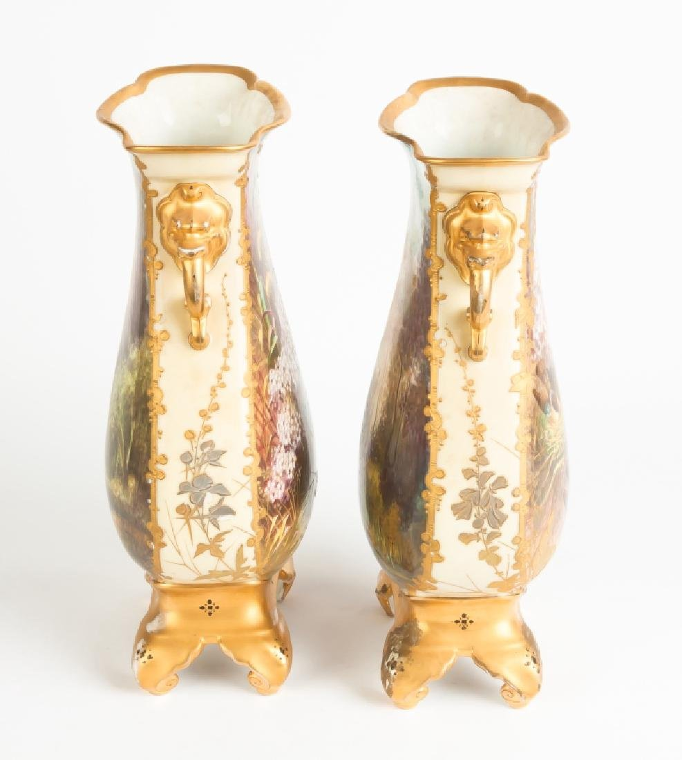 Aesthetic Porcelain Vases and Royal Crown Derby Vases - 4
