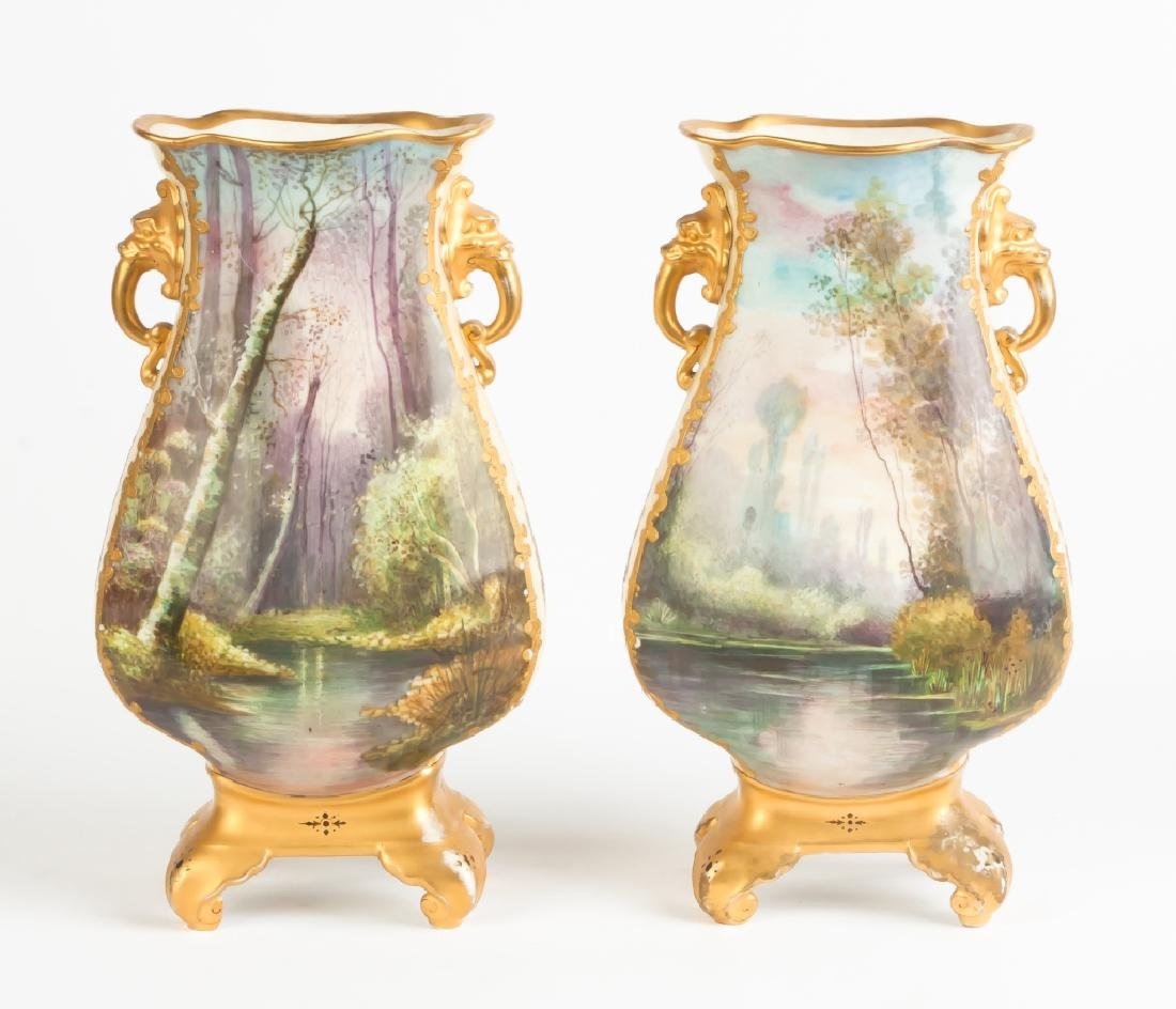 Aesthetic Porcelain Vases and Royal Crown Derby Vases - 5