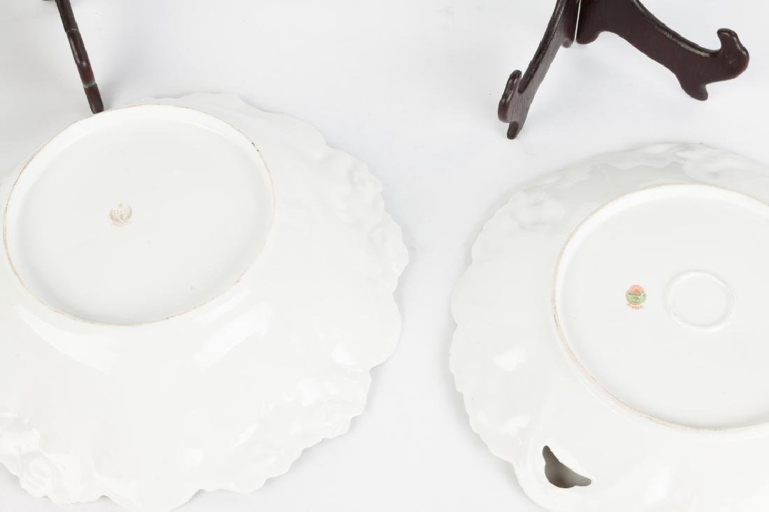 R.S. Prussia Bowl and Porcelain Charger - 2