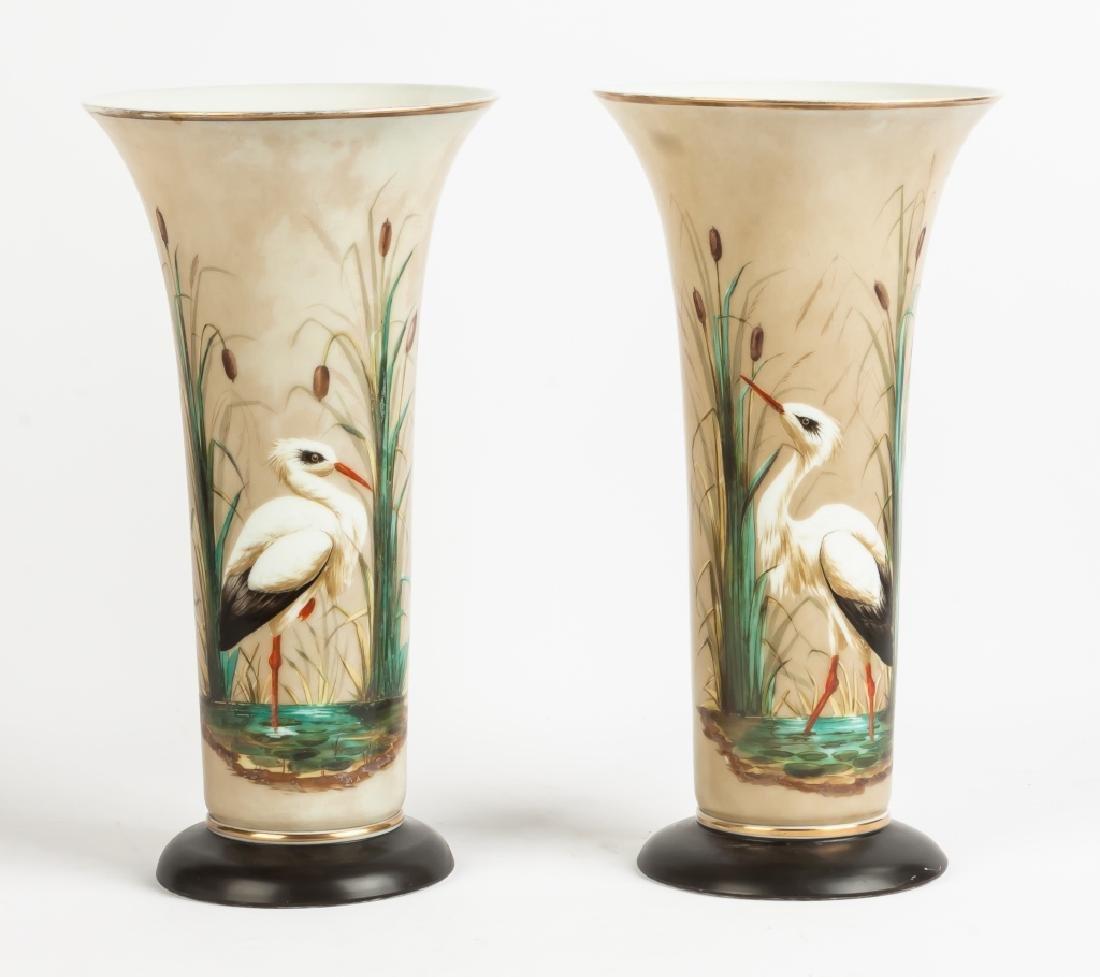 Bristol Glass Vases