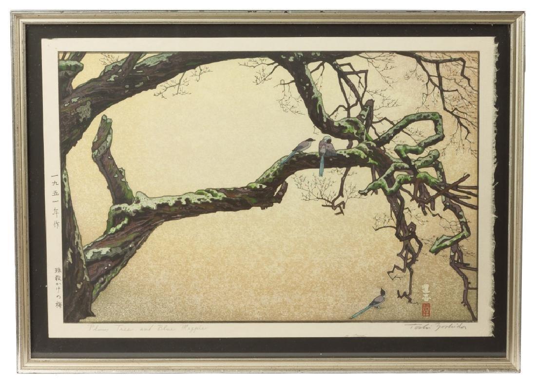 Four Japanese Woodblock Prints - 2