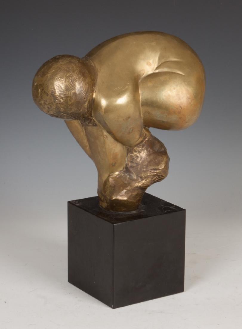 Lorrie Goulet, NA (American, Born 1925) Bronze