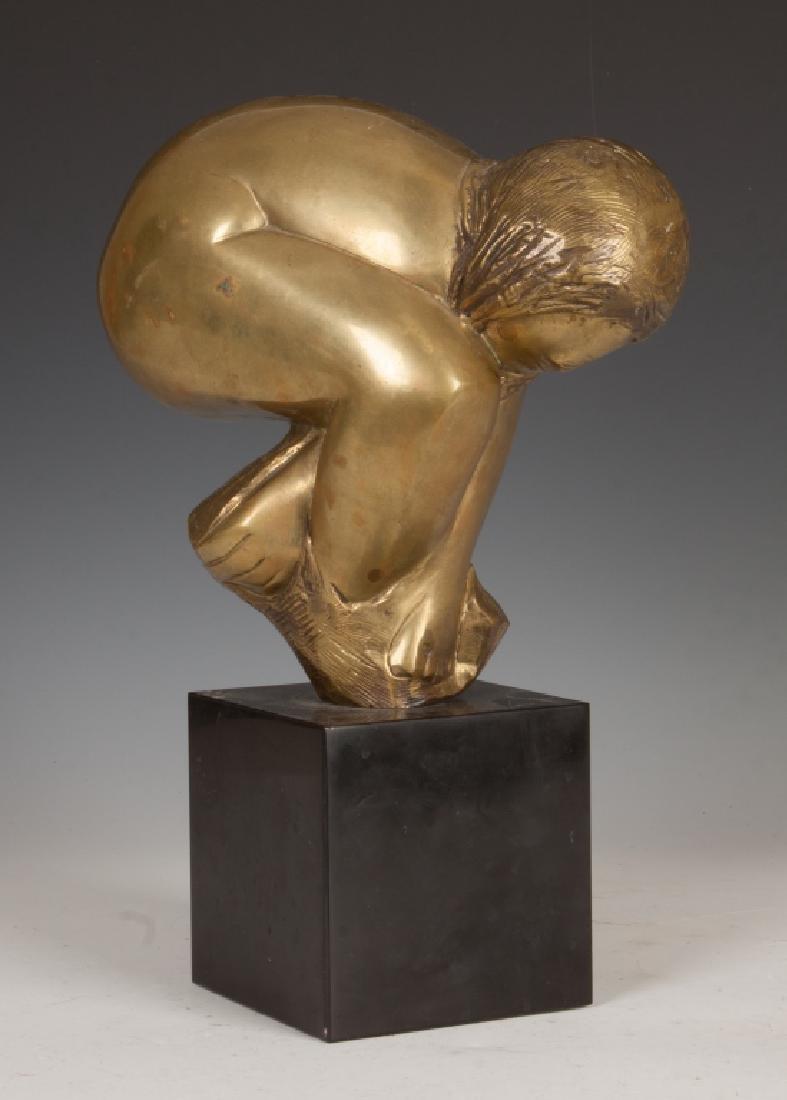 Lorrie Goulet, NA (American, Born 1925) Bronze - 2
