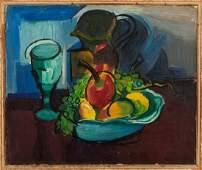 Ben Benn (American, 1884-1983) Still Life with Fruit