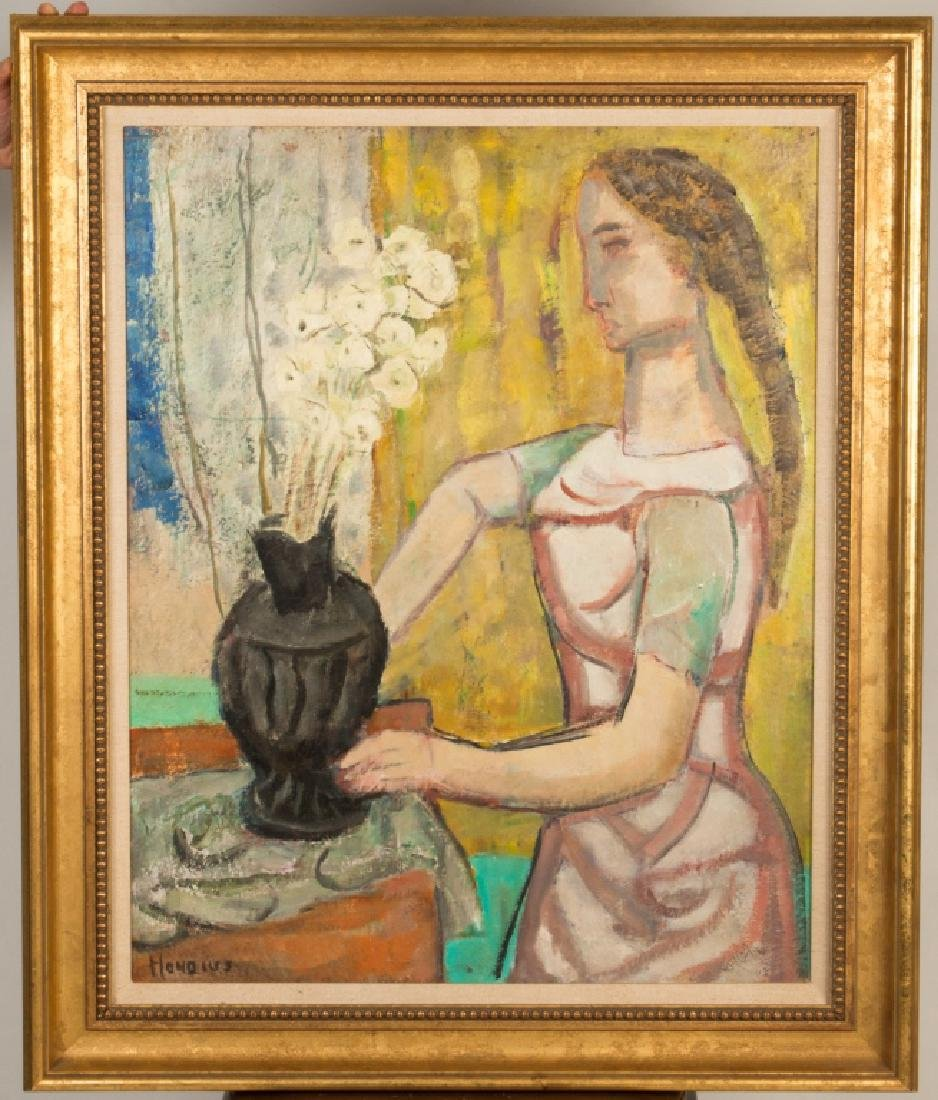 "Gerrit Hondius (American, 1891-1970) ""Woman with a"