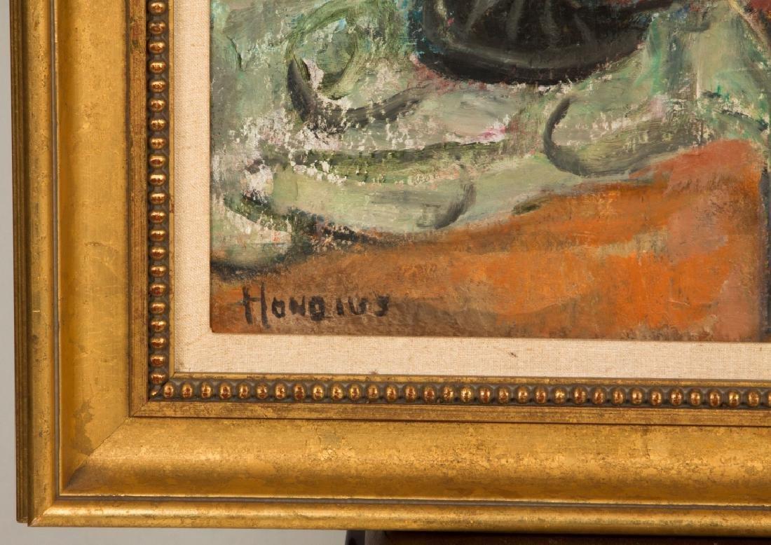 "Gerrit Hondius (American, 1891-1970) ""Woman with a - 2"