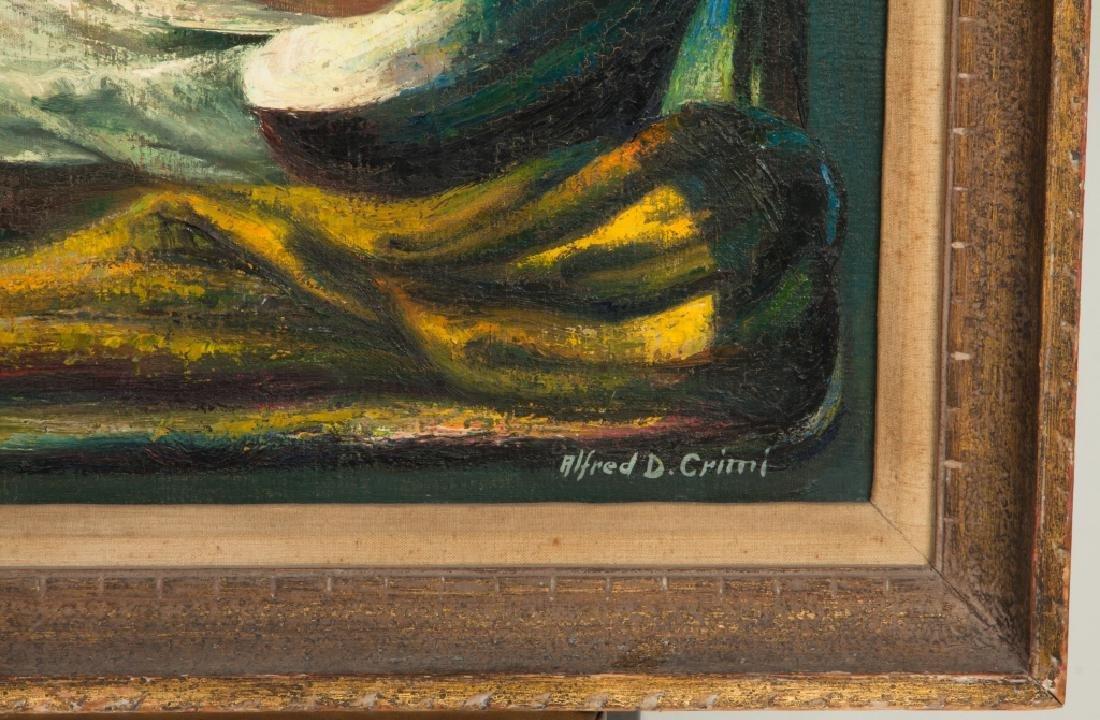 """Alfred D. Crimi (American, 1900-1994) """"Nativity"""" - 2"""