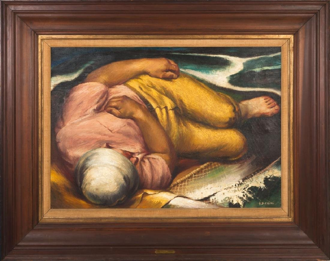 "Alfred D. Crimi (American, 1900-1994) ""Fisherman's"