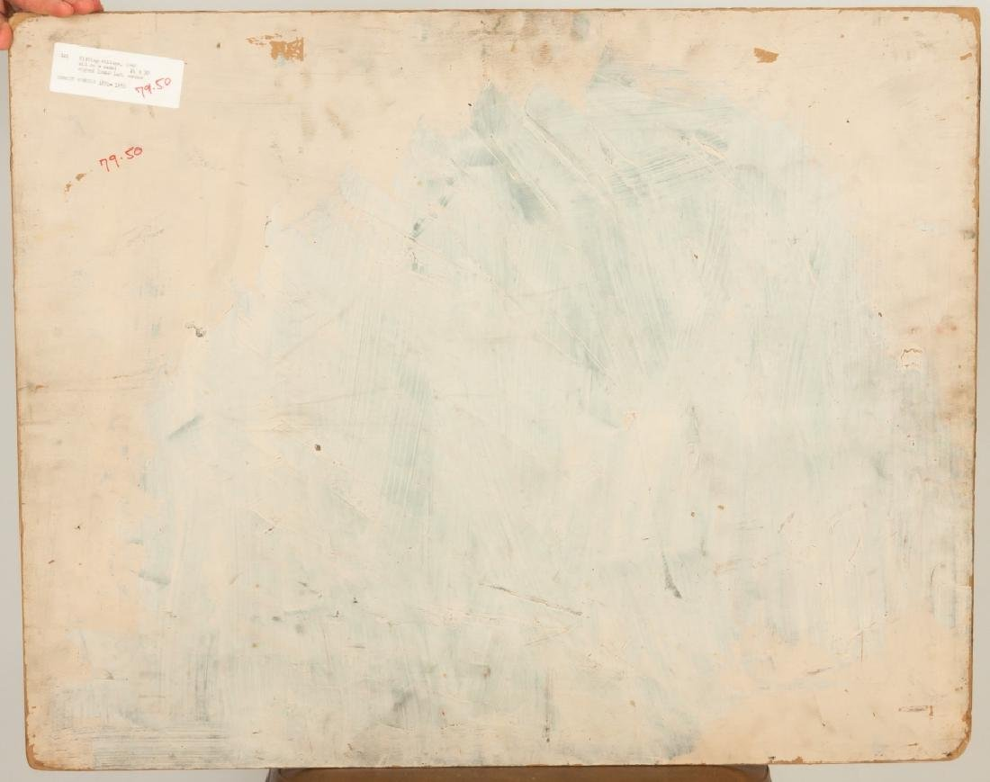 "Gerrit Hondius (American, 1891-1970) ""Fishing Village"" - 3"