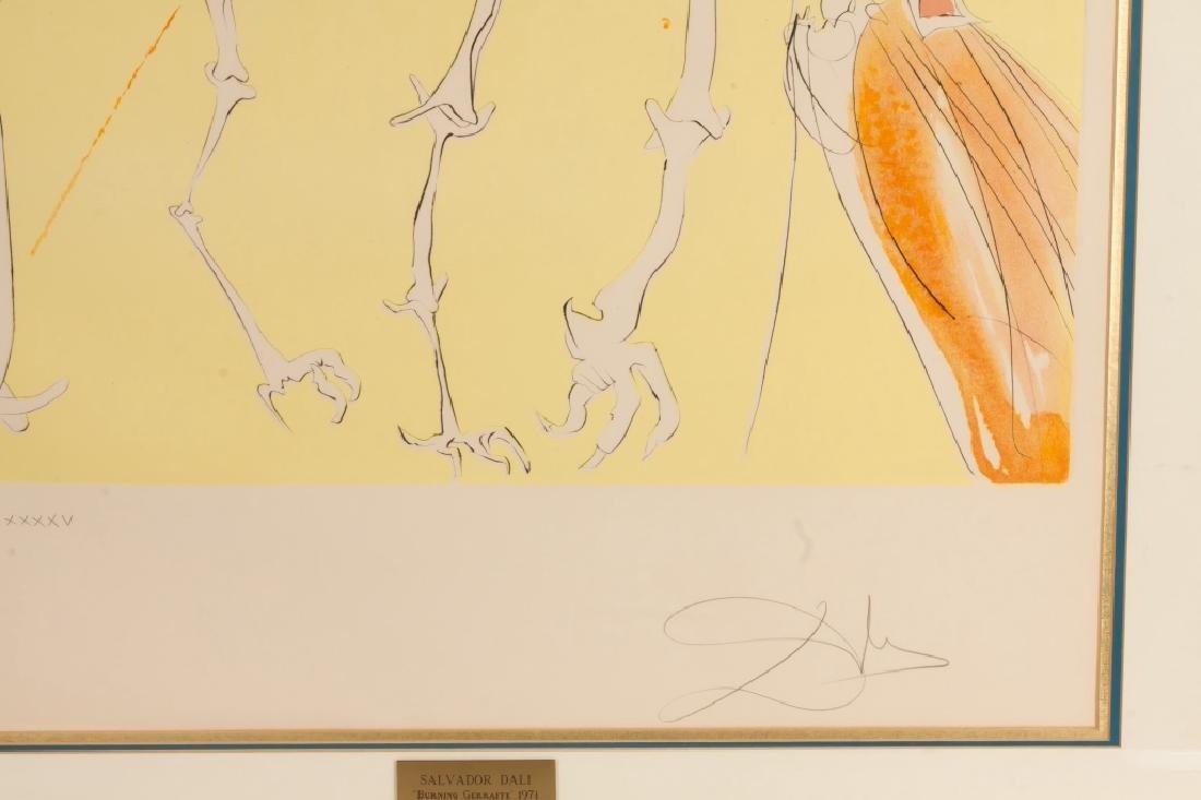 """Salvador Dali (Spanish, 1904-1989) """"Saturnian Giraffe"""" - 2"""