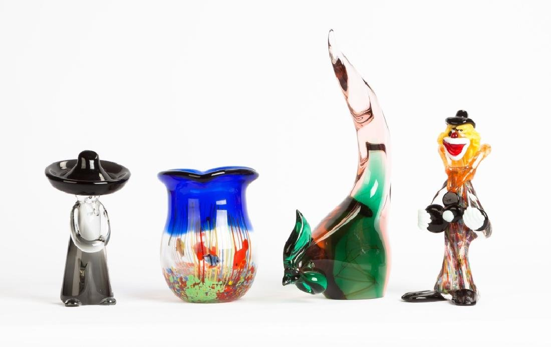 Group of Murano Glass