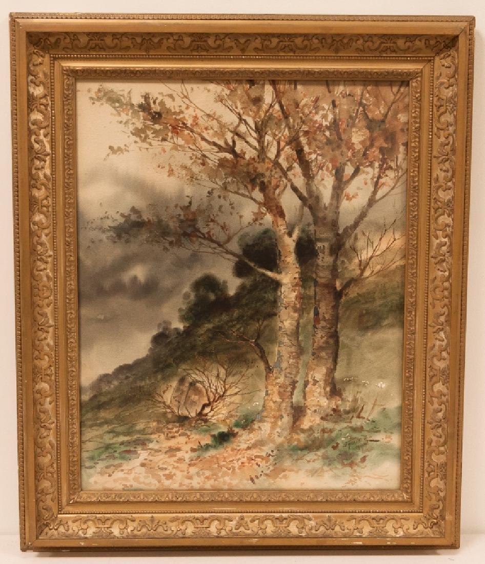 Charles Paul Gruppé(American, 1860-1940) River Birches