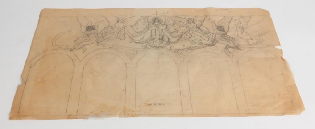 Various Etchings and drawing by George A. Renouard - 3