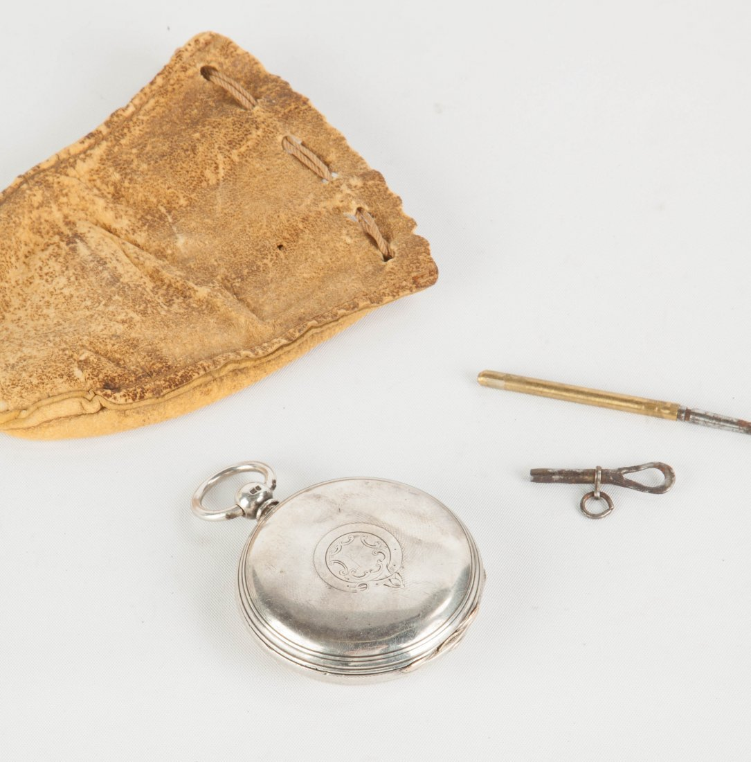J.W. Benson, London, Coin Silver Pocket Watch - 2