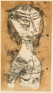 Paul Klee (German, 1879-1940) Die Heilige Von Innerer