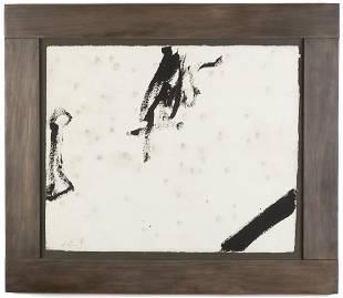 Antoni Tàpies (Spanish, 1923-2012) Untitled