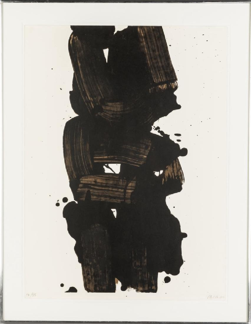 """Pierre Soulages (French, born 1919) """"Gres"""""""