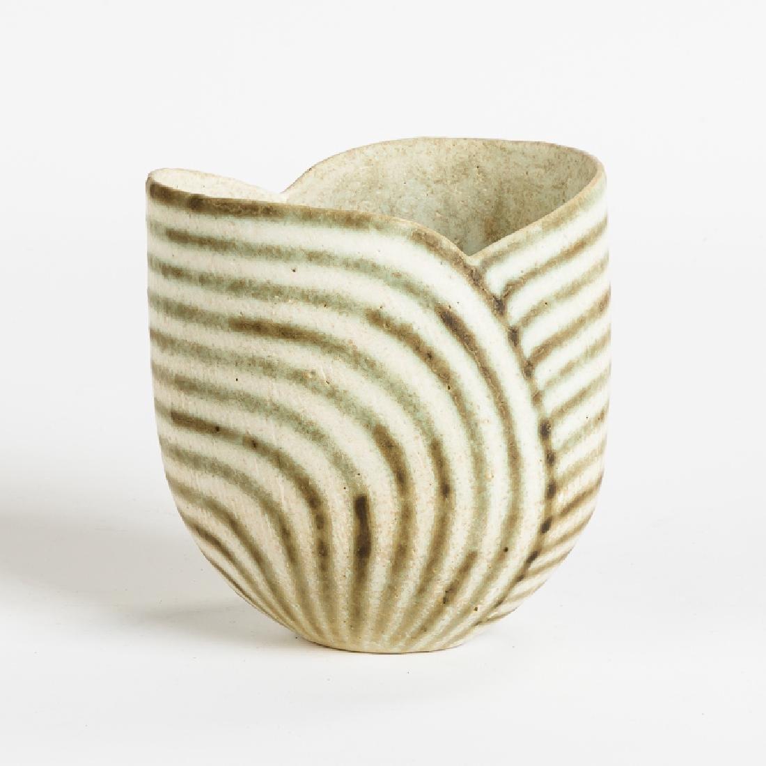 John Ward (English, born 1938) Green Banded Bowl