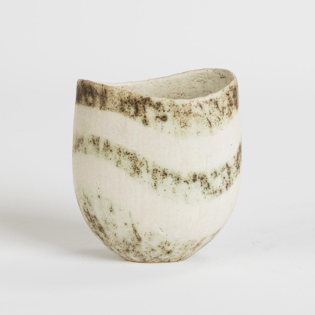 John Ward (English, born 1938) Vase with White and