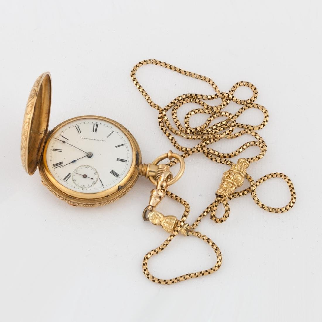 American Watch Co.18k Gold Pocket Watch