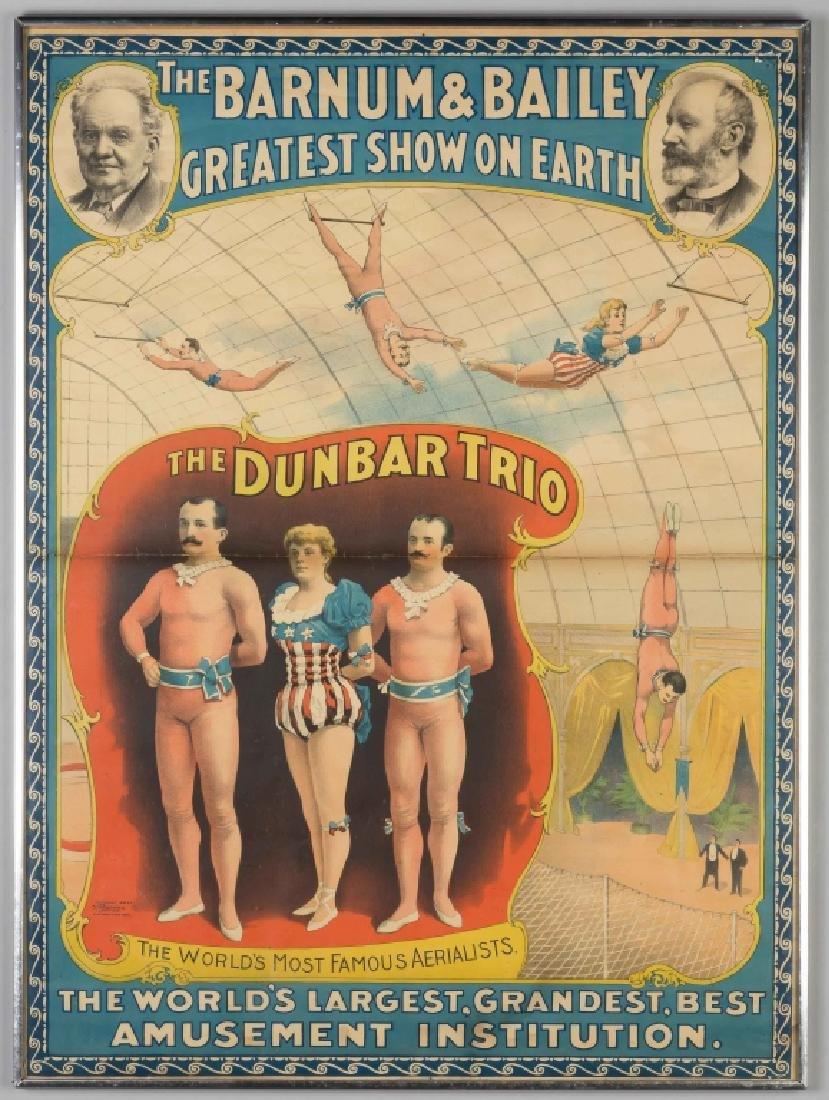 The Barnum & Bailey Poster