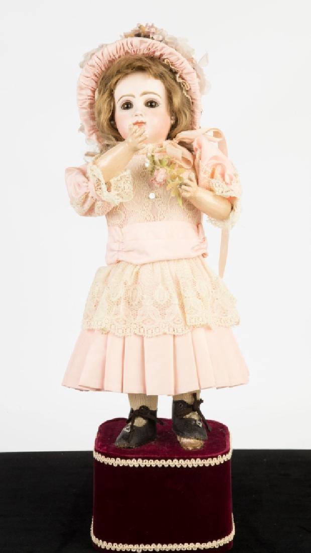 Tete Jumeau Automaton Doll