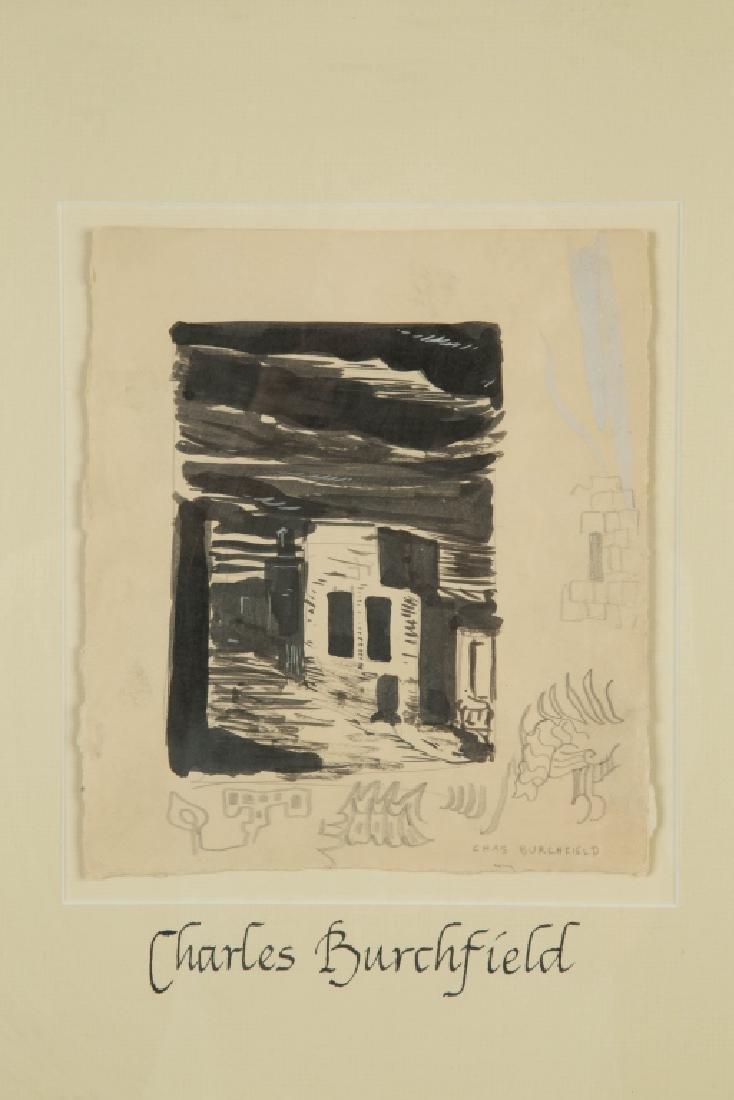 Charles Ephraim Burchfield (American, 1893-1967) Study