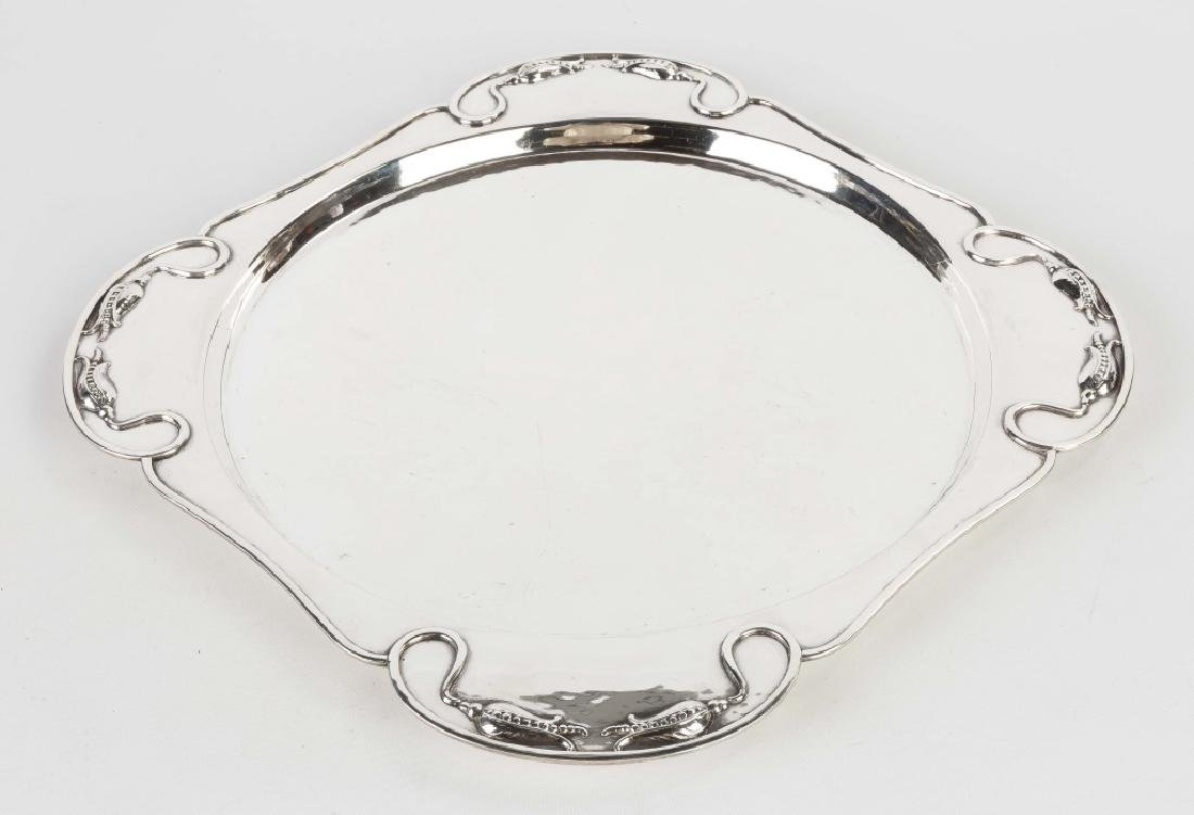 Carl Poul Peterson (Montreal) Hand Wrought Sterling