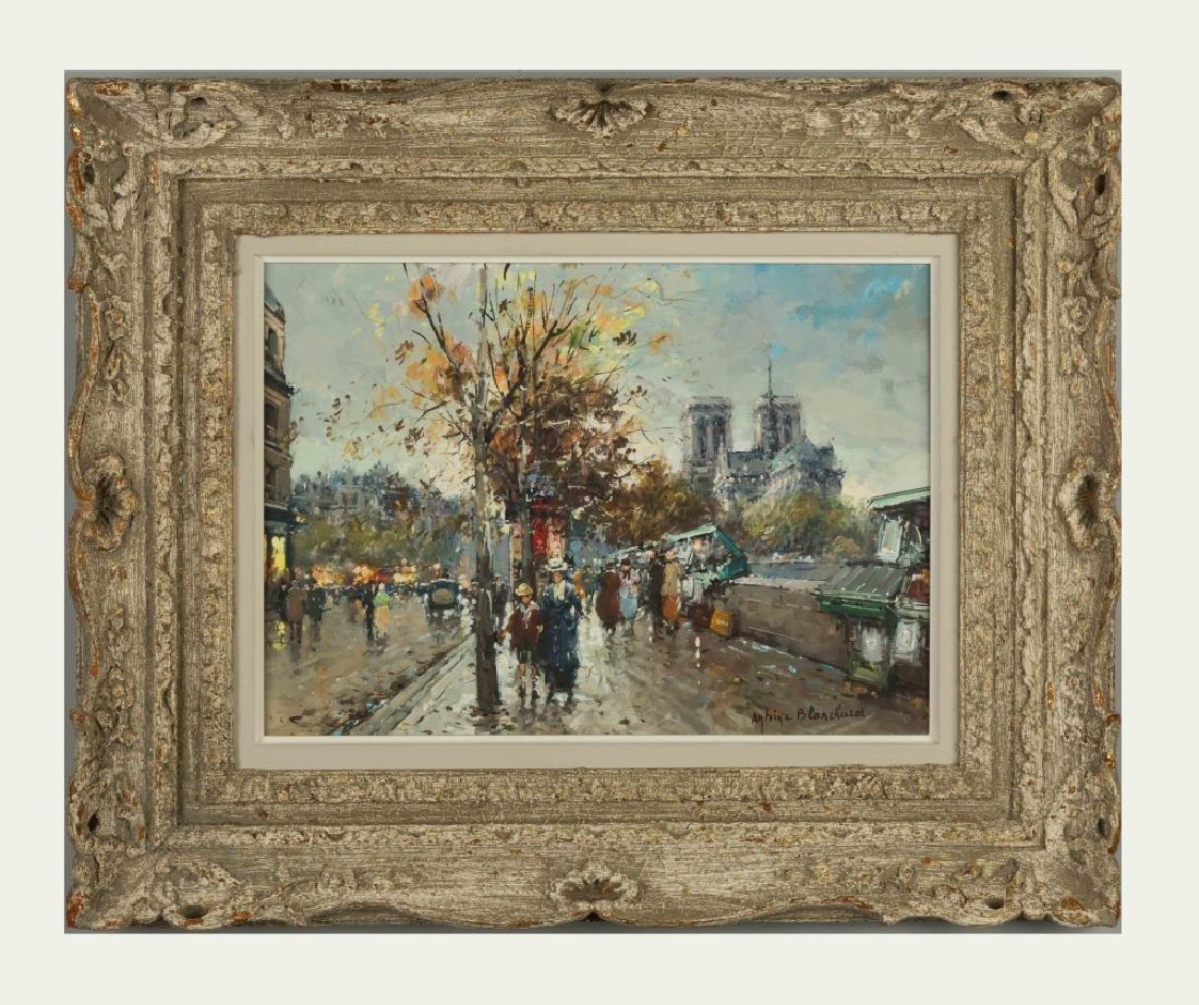 Antoine Blanchard (French, 1910-1988) Paris Street