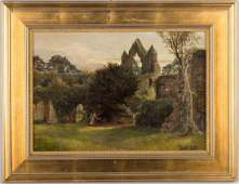 Henry John Yeend King British 18551924 Castle Scene