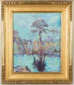 Emile Albert Gruppe (American, 1896-1978) Palm Tree