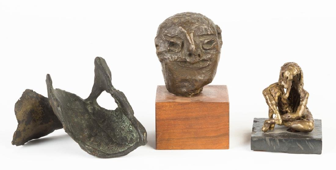Peter Jenkins and D. Wright Bronze Sculptures