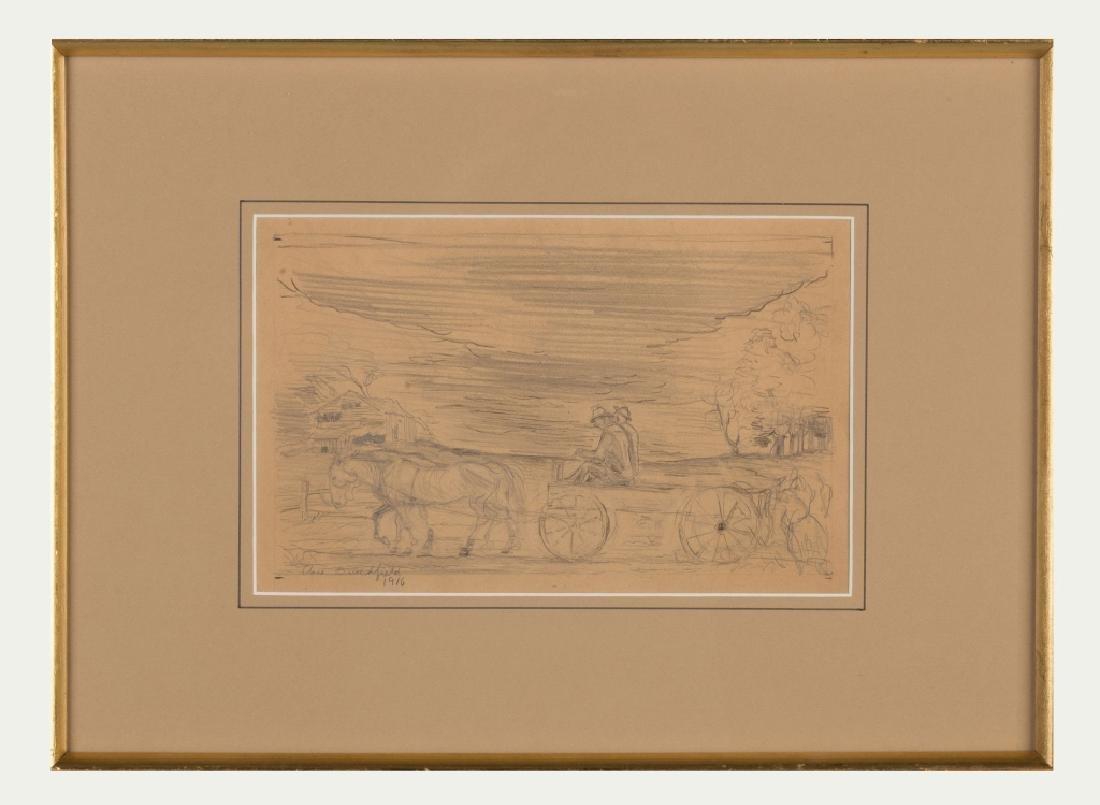 "Charles Ephraim Burchfield (American, 1893-1967) ""Wagon"
