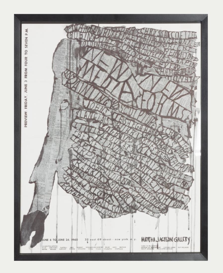 Claes Oldenburg (Swedish/American, b. 1929) Martha
