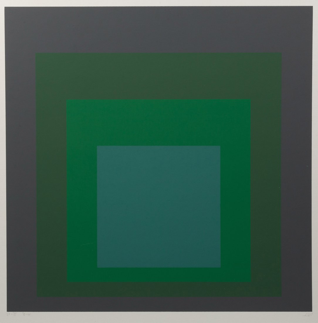 Josef Albers (German, 1888-1976) Homage to the Square