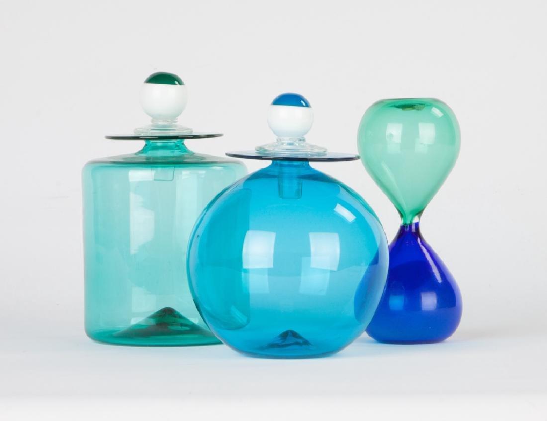 Two Yoichi Ohira Bottles For De Mayo Murano and Fulvio