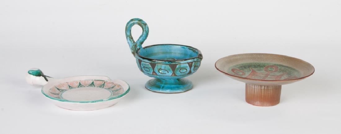 Group of Mid-Century Vallauris Ceramics