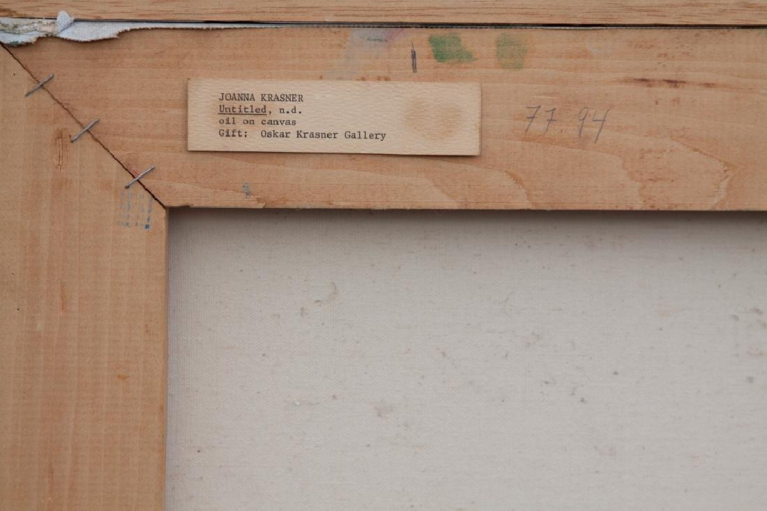 Joanna Krasner (American, 1930-2016) Untitled Painting - 2