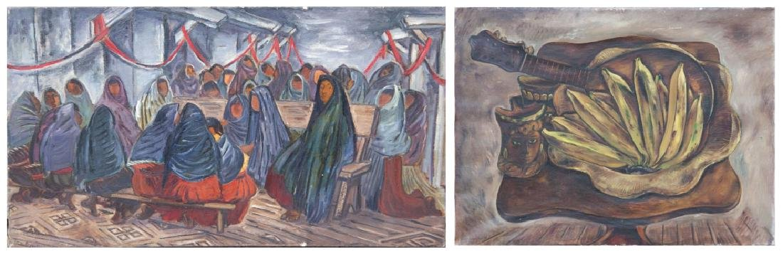 Two Doris Rosenthal (American, 1889-1971) Paintings
