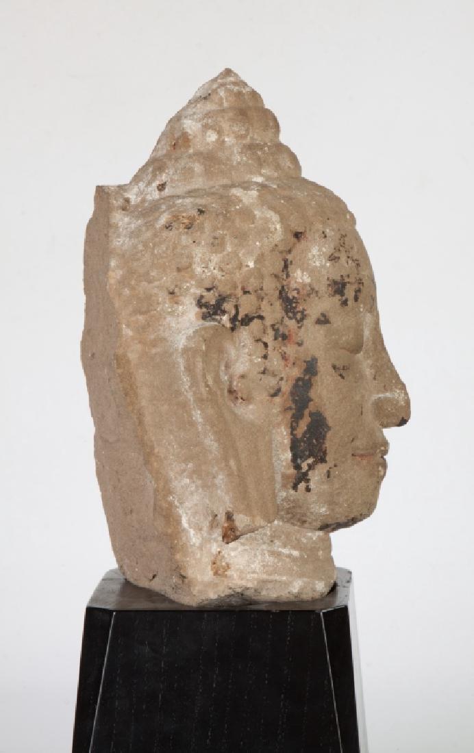 Cambodian Stone Head - 2