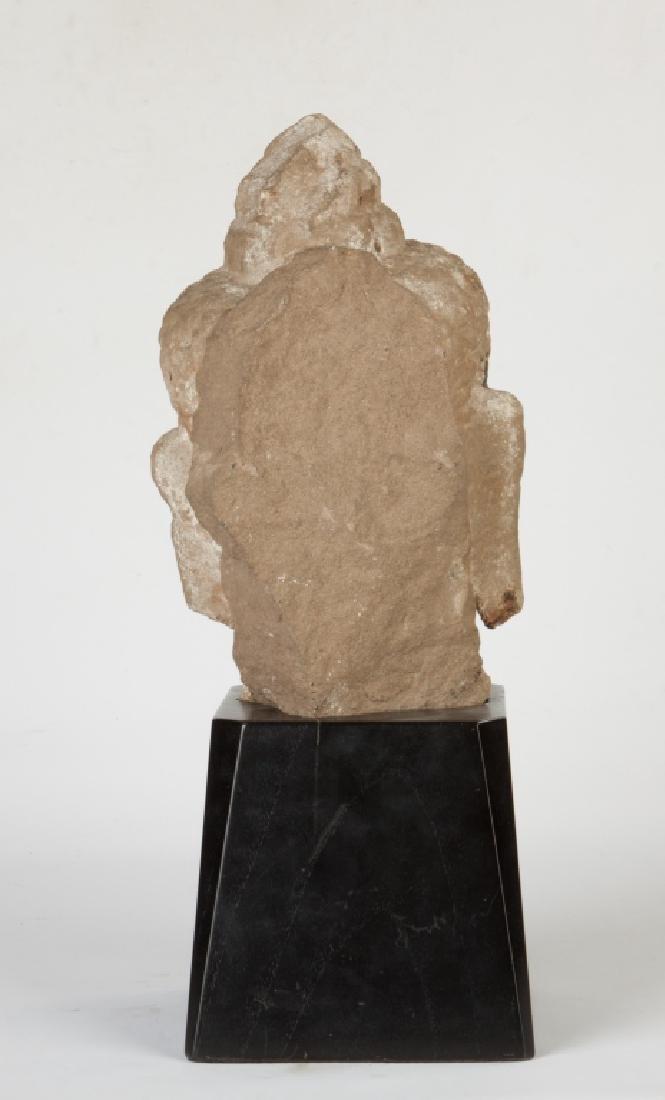Cambodian Stone Head - 3
