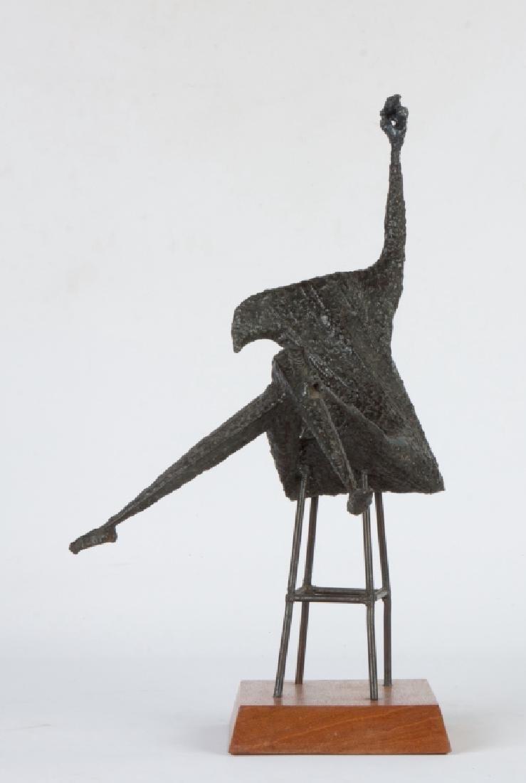 Robert Harris (20th Century) Steel Sculpture