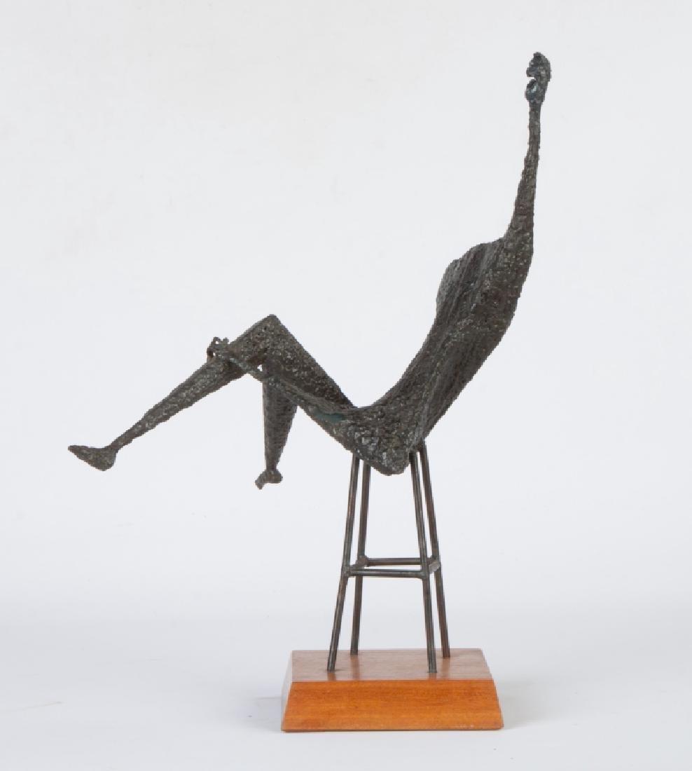Robert Harris (20th Century) Steel Sculpture - 2