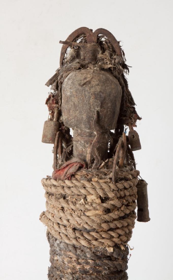 African Ewe Healer Figure - 5